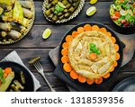 arabic cuisine  middle eastern...   Shutterstock . vector #1318539356