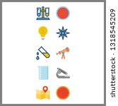 10 discovery icon. vector...   Shutterstock .eps vector #1318545209