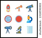 9 discovery icon. vector...   Shutterstock .eps vector #1318550303