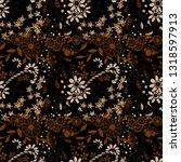 little flowers. seamless... | Shutterstock .eps vector #1318597913