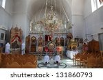 Inside An Orthodox Church On...