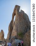 custer state park  south dakota ... | Shutterstock . vector #1318647680