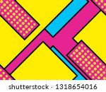 geometric seamless pattern in... | Shutterstock .eps vector #1318654016