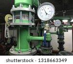 Water Pump Room Interior  Green ...