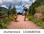 One Man Hiker   His Labradoodle ...