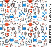 science seamless pattern... | Shutterstock .eps vector #1318720376