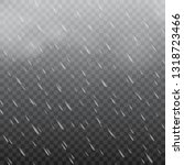 foggy rainy weather in...   Shutterstock .eps vector #1318723466