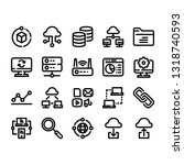 popular website icon set for...