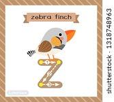 letter z lowercase cute... | Shutterstock .eps vector #1318748963