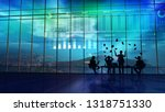 success in trading on the stock ... | Shutterstock . vector #1318751330