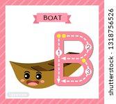 letter b uppercase cute...   Shutterstock .eps vector #1318756526