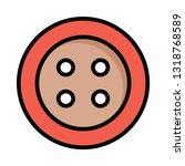 stud  sew  needlework     Shutterstock .eps vector #1318768589