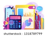 tiny people auditors ...   Shutterstock .eps vector #1318789799