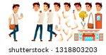 asian boy schoolboy kid vector. ...   Shutterstock .eps vector #1318803203
