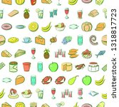 food images. background for... | Shutterstock .eps vector #1318817723