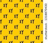 human chromosomes pattern... | Shutterstock .eps vector #1318870430