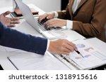 financial accountant  planner ... | Shutterstock . vector #1318915616