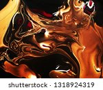 marbled golden abstract... | Shutterstock . vector #1318924319