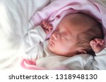 cute little asian 1 month old... | Shutterstock . vector #1318948130