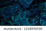 abstract geometric architecture ... | Shutterstock . vector #1318950530