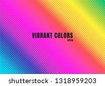 abstract rainbow color... | Shutterstock .eps vector #1318959203