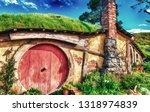 matamata  new zealand. hobbiton ...   Shutterstock . vector #1318974839