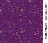 memphis swiss style seamless...   Shutterstock .eps vector #1319032580