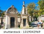 paris  france   september 09 ...   Shutterstock . vector #1319042969