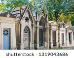 a view of the pere lachaise ...   Shutterstock . vector #1319043686