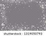 glow light effect. vector... | Shutterstock .eps vector #1319050793