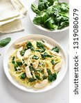 tasty pasta with vegetable...   Shutterstock . vector #1319080679