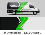 van wrap design. wrap  sticker... | Shutterstock .eps vector #1319095850