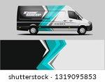 van wrap design. wrap  sticker... | Shutterstock .eps vector #1319095853