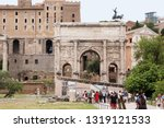 rome  italy  may 28  2018  the... | Shutterstock . vector #1319121533