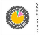 keto diet icon | Shutterstock .eps vector #1319139560