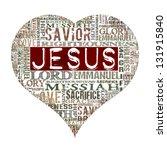 I Love Jesus Religious Words...