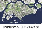 vector map of the city of... | Shutterstock .eps vector #1319159570