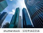 bottom view of modern... | Shutterstock . vector #1319162216