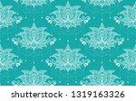 indian lotus flower vector... | Shutterstock .eps vector #1319163326