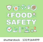 food safety word concepts...