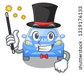 magician car police isolated... | Shutterstock .eps vector #1319176133