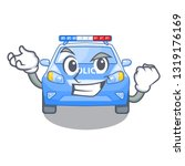 successful police car in the... | Shutterstock .eps vector #1319176169
