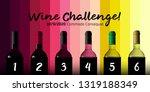 design idea for party  tasting... | Shutterstock .eps vector #1319188349