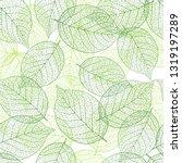 fresh green seamless background ...   Shutterstock .eps vector #1319197289