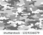 texture military camouflage...   Shutterstock .eps vector #1319236079