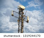 3g  4g and 5g cellular. base... | Shutterstock . vector #1319244170