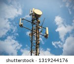 3g  4g and 5g cellular. base... | Shutterstock . vector #1319244176