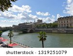 paris  france  10 aug 2018.... | Shutterstock . vector #1319251079