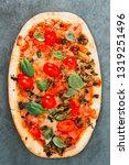 pizza mozzarella  ham...   Shutterstock . vector #1319251496