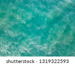 Turquoise Water Surface Aerial...